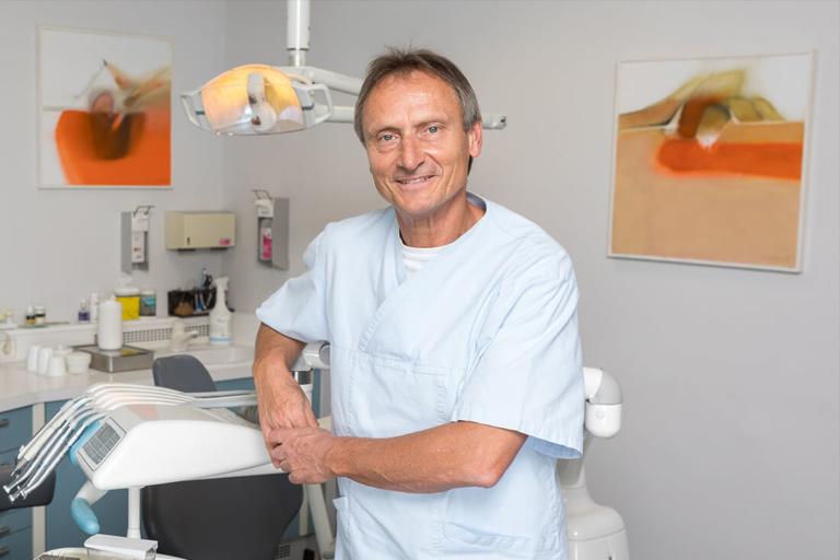 Zahnarzt Rohrbach - Team - DDr. Edwin Zimmermann